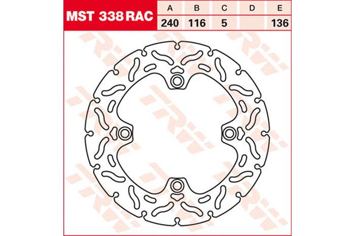TRW ティーアールダブル BRAKE-DISCS RACING [MST338RAC2]