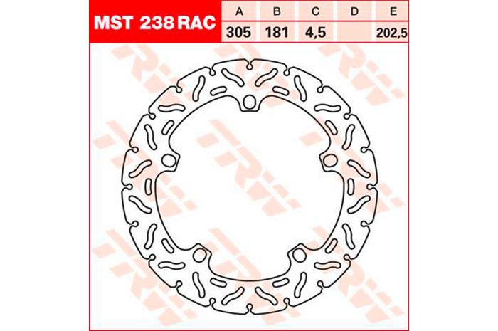 【在庫あり】TRW ティーアールダブル BRAKE-DISCS RACING [MST238RAC2] R 1100 S [R2S] R 1200 GS [R12] 04-07 R 1200 GS [R12] 08-12 R 1200 GS [R12W] R 1200 GS Adventure [R12] 06-07 R 1200 GS Adventure [R12] 08-12 R 1200 GS Adventure [R12W]