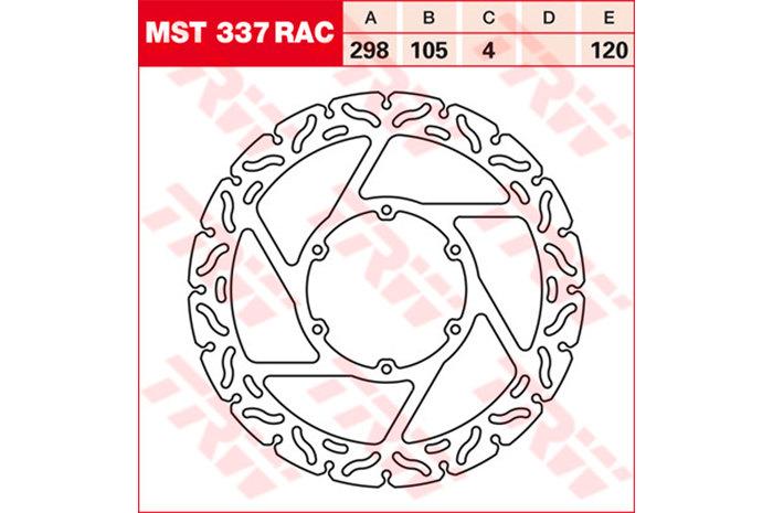 TRW ティーアールダブル BRAKE-DISCS RACING [MST337RAC2]