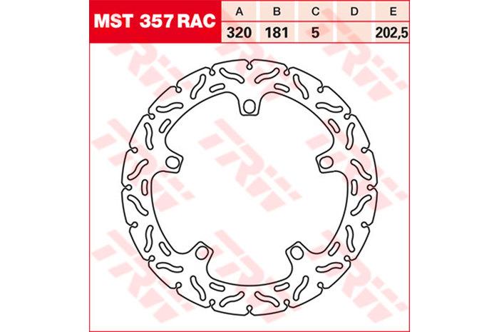 TRW ティーアールダブル BRAKE-DISCS RACING [MST357RAC2]