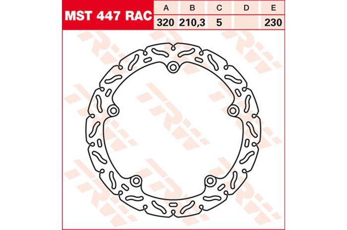 TRW ティーアールダブル BRAKE-DISCS RACING [MST447RAC2]