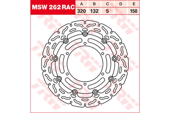 TRW ティーアールダブル BRAKE-DISCS RACING [MSW262RAC2]