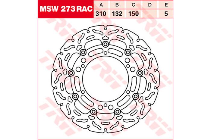 TRW ティーアールダブル BRAKE-DISCS RACING [MSW273RAC2]