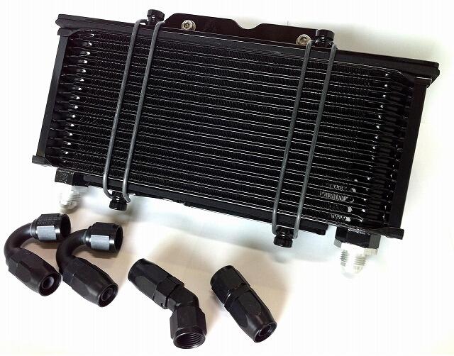 JB POWER(BITO R&D) JBパワー(ビトーR&D) オイルクーラー本体 オイルクーラーキット カラー:ブラック Z1000J Z1000R