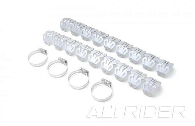 AltRider アルトライダー その他マフラーパーツ Universal Header Guards (pair) R 1100 GS
