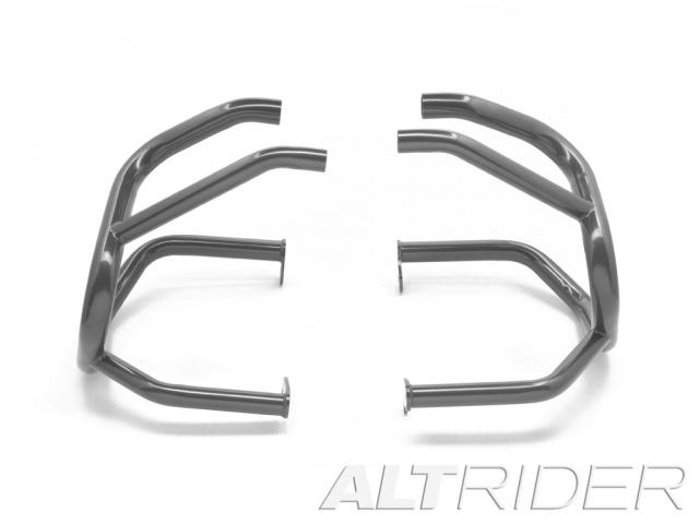 AltRider アルトライダー ガード・スライダー Crash Bars カラー:Triple Black (Grey) タイプ:Without Mounting Bracket