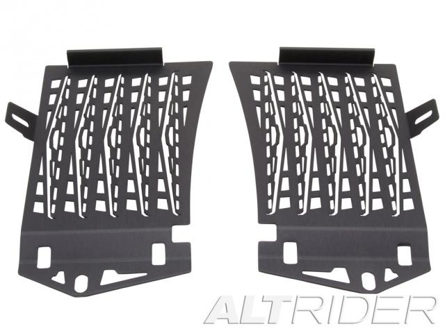 AltRider アルトライダー コアガード Radiator Guard カラー:Black R 1200 GS Adventure Water Cooled