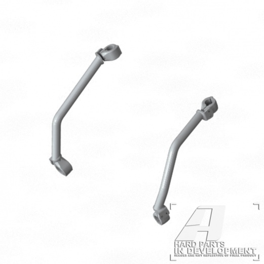 AltRider アルトライダー ガード・スライダー Reinforcement Crash Bars カラー:Red CRF1000L Africa Twin