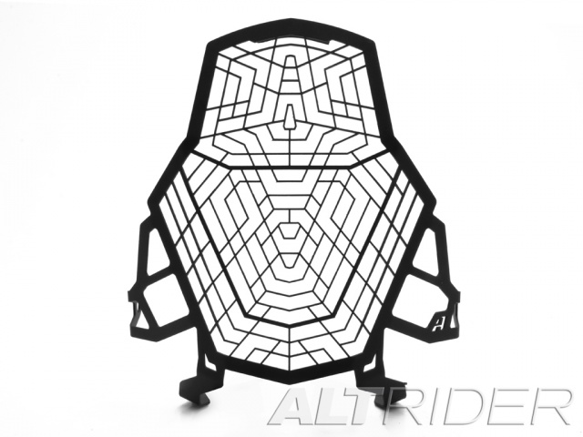 AltRider アルトライダー ガード・スライダー Stainless Steel Headlight Guard カラー:Black 1190 Adventure / R