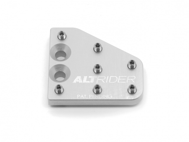 AltRider アルトライダー その他ステップパーツ DualControl Brake Enlarger カラー:Silver 1190 Adventure / R