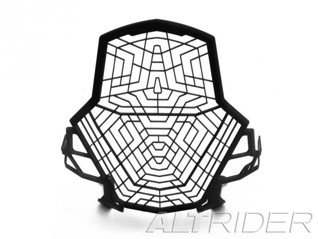 AltRider アルトライダー ガード・スライダー Stainless Steel Headlight Guard カラー:Black 1290 Super Adventure