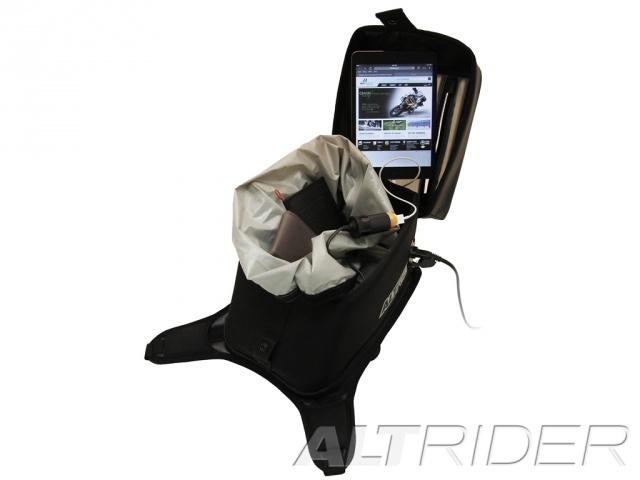 AltRider アルトライダー タンクバッグ Hemisphere Tank Bag with Powerlet Power Kit タイプ:Rear Right