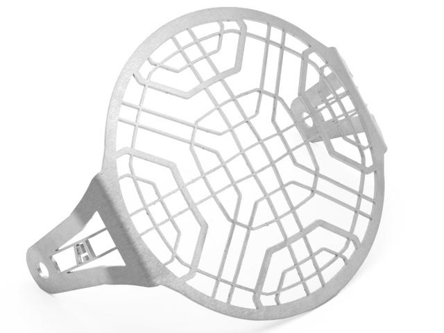 AltRider アルトライダー ガード・スライダー Stainless Steel Headlight Guard カラー:Silver Scrambler