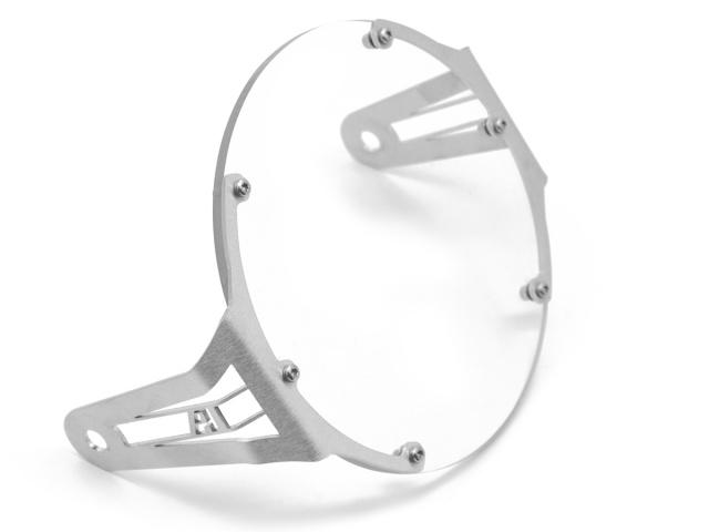 AltRider アルトライダー ガード・スライダー Clear Headlight Guard カラー:Silver Scrambler