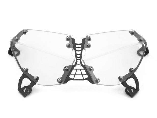 AltRider アルトライダー ガード・スライダー Clear Headlight Guard カラー:Black Super Tenere XT1200Z