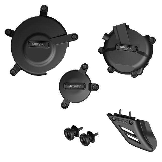 GBRacing ジービーレーシング ガード・スライダー クラッシュプロテクションフルセット GSX-R600 (K6-L4) GSX-R750 (K6-L4)
