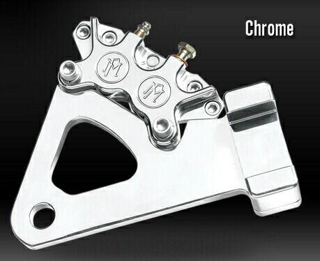 PerformanceMachine パフォーマンスマシン 4ピストン Classic キャリパー&ブラケット 125X4R 仕上げ:ブラックOPS FXR FXRS FXRT
