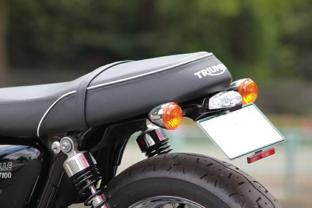 Moto Ace design モトエースデザイン トライアンフ フェンダーレスキット レンズカラー:クリア BONNEVILLE T100 水冷エンジン 2016-