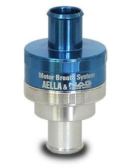 AELLA アエラ クランクケース内圧コントロールバルブ(BMW Φ10用) Rシリーズ R80 R100