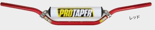 PRO TAPER プロテーパー SEVEN EIGHTH [セブンエイス] ハンドルバー カラー:レッド