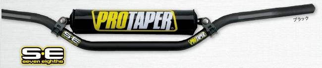 PRO TAPER プロテーパー SEVEN EIGHTH [セブンエイス] ハンドルバー カラー:ブラック