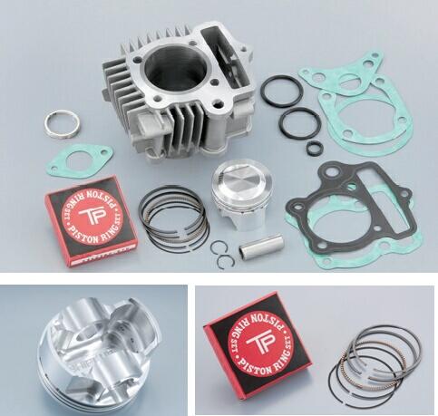 SHIFT UP シフトアップ ボアアップキット・シリンダー モンキー88cc 鍛造削り出しピストン ボアアップキット for 6V ゴリラ ダックス ベンリィCD50 モンキー