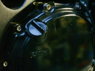 TITANIUM64 チタニウム64 エンジンカバー ジェネレーターカバー用ボルト(左サイド) CBR1100XX Blackbird