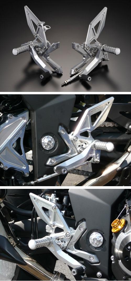 AGRAS アグラス バックステップ Z1000(水冷) 07-09