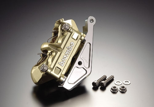 AGRAS アグラス キャリパーサポート NSF100 NSR50 NSR80 XR100モタード エイプ100 タイプD