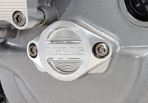 AGRAS アグラス エンジンカバー オルタネーターカバー 851 888 900SS 916 MONSTER900 ST2 ST4