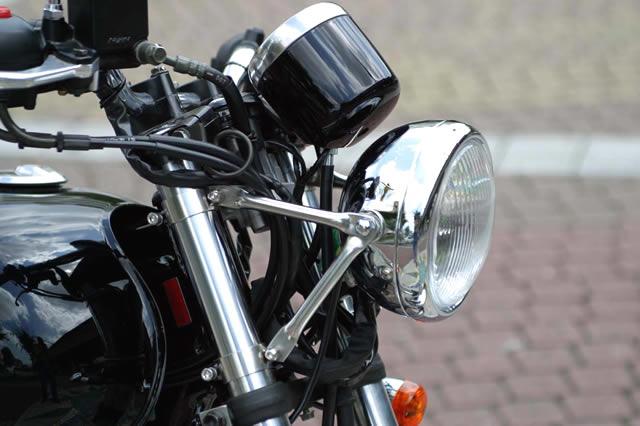 GOLDMEDAL ゴールドメダル ヘッドライトステー・ブラケット パイプライトステー ST250