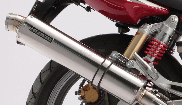 BEAMS ビームス R-EVO ボルトオン スリップオンマフラー サイレンサー:ステンレス(ポリッシュ仕上げ) CB400スーパーフォア
