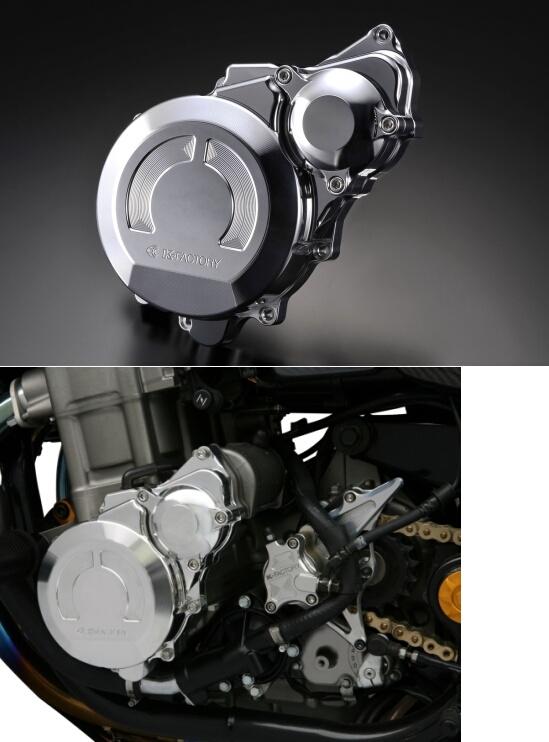 【在庫あり】K-FACTORY Kファクトリー クランクエンドカバーL CB1300スーパーフォア CB400スーパーボルドール CB400スーパーボルドール CB1300スーパーフォア CB1300スーパーフォア X4