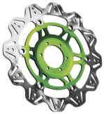 EBC イービーシー ディスクローター V ローター ストリートバイク用ブレーキディスク (VEE ROTORS FOR STREET BIKES) カラー:グリーン FZ-09 14-15