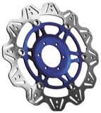 EBC イービーシー ディスクローター V ローター ストリートバイク用ブレーキディスク (VEE ROTORS FOR STREET BIKES) カラー:ブルー YZF-R1 04-06