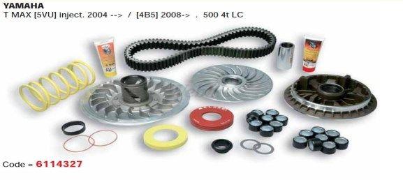 MALOSSI マロッシ プーリー関連 オーバーレンジキット T-MAX インジェクション車 2004-2007 型式:5VU T-MAX インジェクション車 2008-2011 型式:4B5