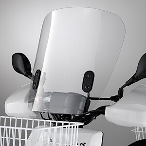 【在庫あり】【イベント開催中!】 YAMAHA ヤマハ ワイズギア スクーター外装 ウインドシールド2 BX50 ギア