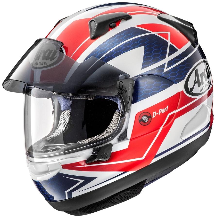 Arai アライ フルフェイスヘルメット ASTRAL-X CURVE RED [アストラル エックス カーブ 赤] ヘルメット サイズ:54cm(XS)