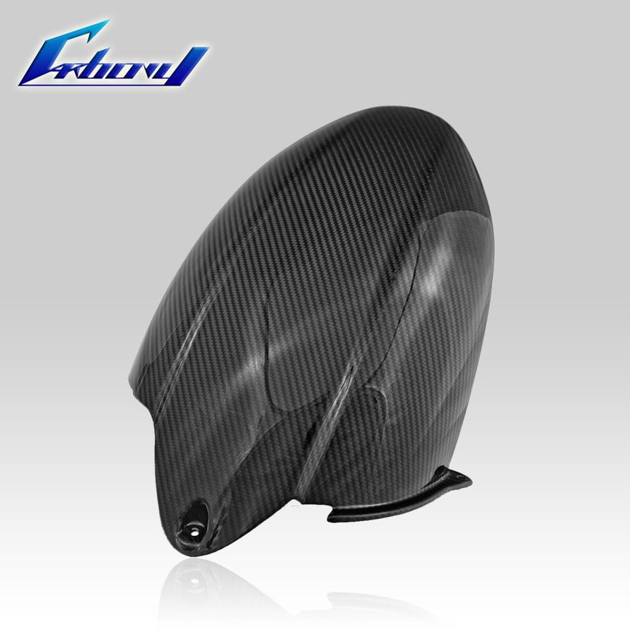 Carbony カーボニー ドライカーボン リアフェンダー 仕上げ:ツヤ有り 仕様:レッドカーボン ZX-10R 2008-2010
