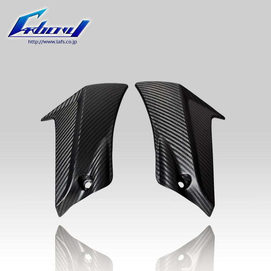 Carbony カーボニー サイドカバー ドライカーボン フレームサイドカウル 仕上げ:ツヤ有り 仕様:ブルーカーボン GSX-R600 2011-2015
