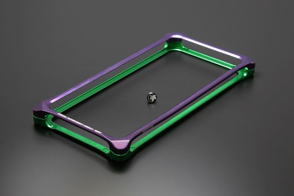 スマートフォンケース Solid Bumper [ソリッドバンパー] for iPhoneSE/5s/5 (EVANGELION Limited) [エバンゲリオン] カラー:エヴァンゲリオン初号機 [商品コード:GIEV-262PGB]