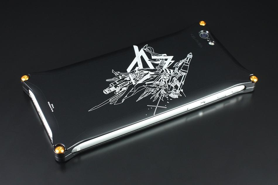 Solid Case [ソリッドケース] for iPhone6/6s(KENTA KAKIKAWA)(Abstract EVANGELION 零号機) [エバンゲリオン] カラー:ブラック [商品コード:GIEV-240EVAZB]