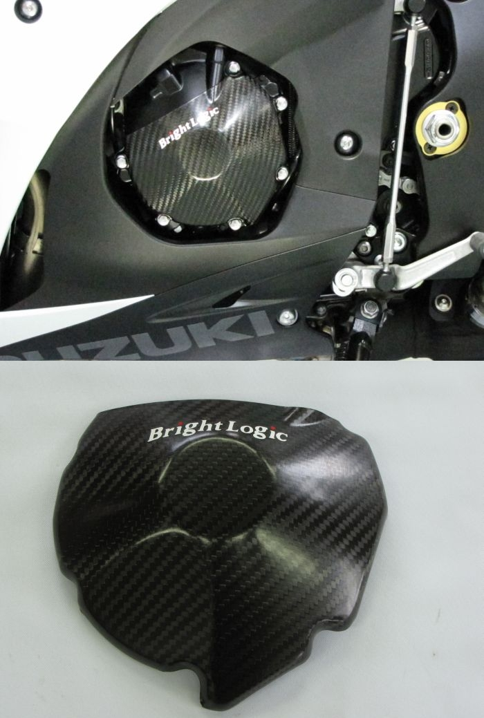 BrightLogic ブライトロジック カーボンエンジンカバー(小) GSX-R1000