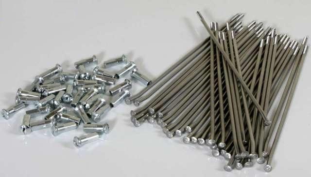 HAAN 人気の製品 WHEELSハーンホイール ホイール関連パーツ 通販 スポーク+ニップルセット KX250F ハーンホイール WHEELS KX250