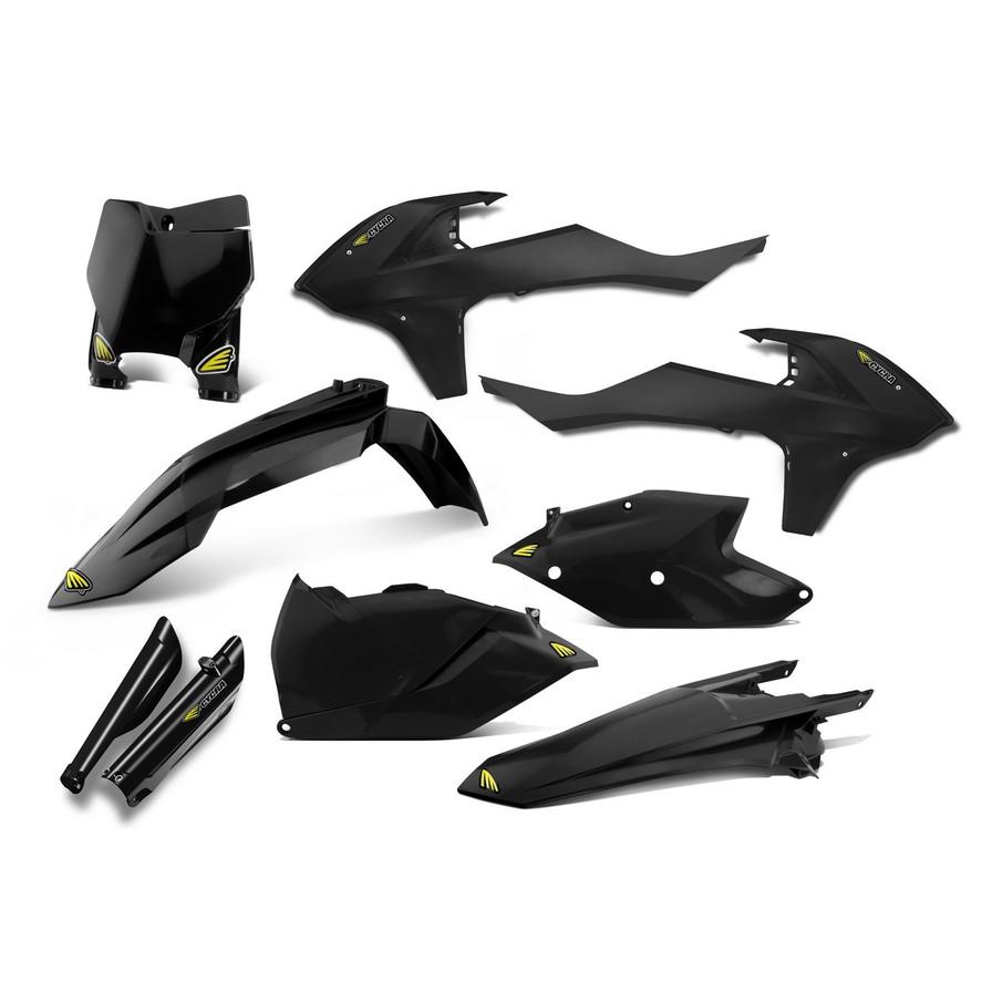 CYCRA サイクラ フルカウル・セット外装 パワーフローインテークラジエターボディキット カラー:ブラック (2016-2017)