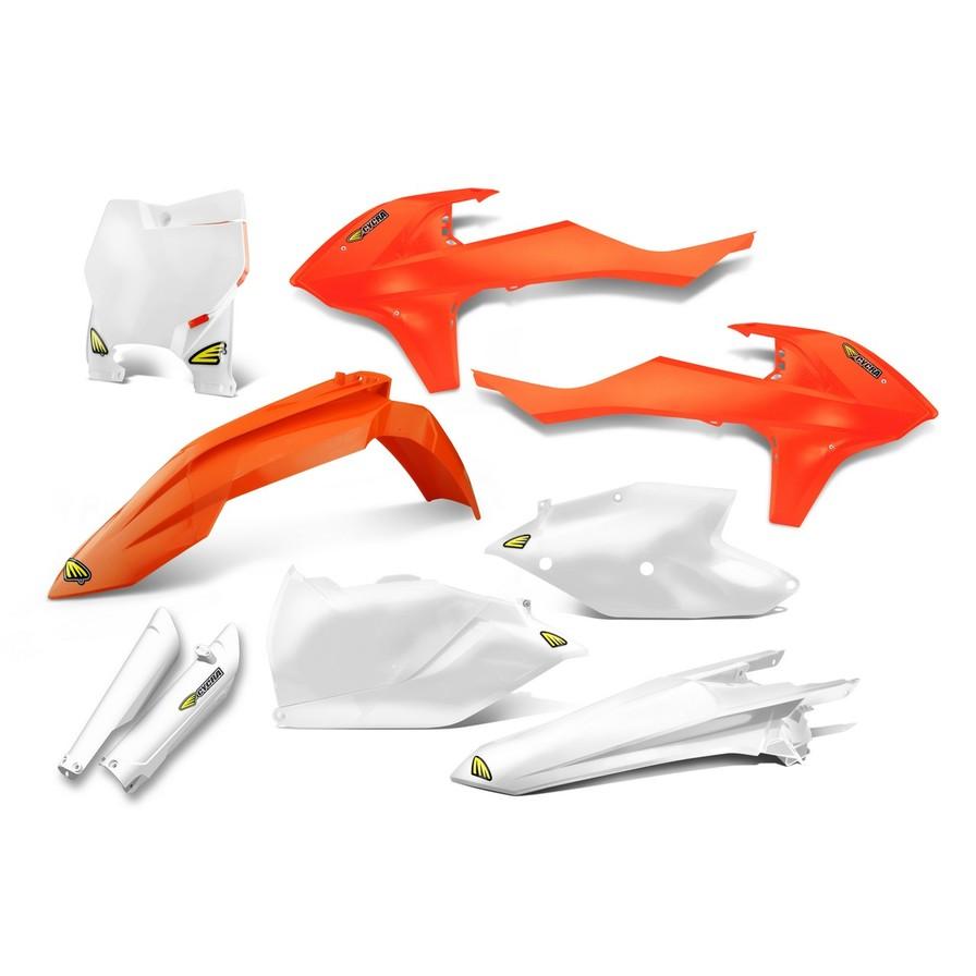 CYCRA サイクラ フルカウル・セット外装 パワーフローインテークラジエターボディキット カラー:オレンジ純正/ストックカラー (2016-2017)