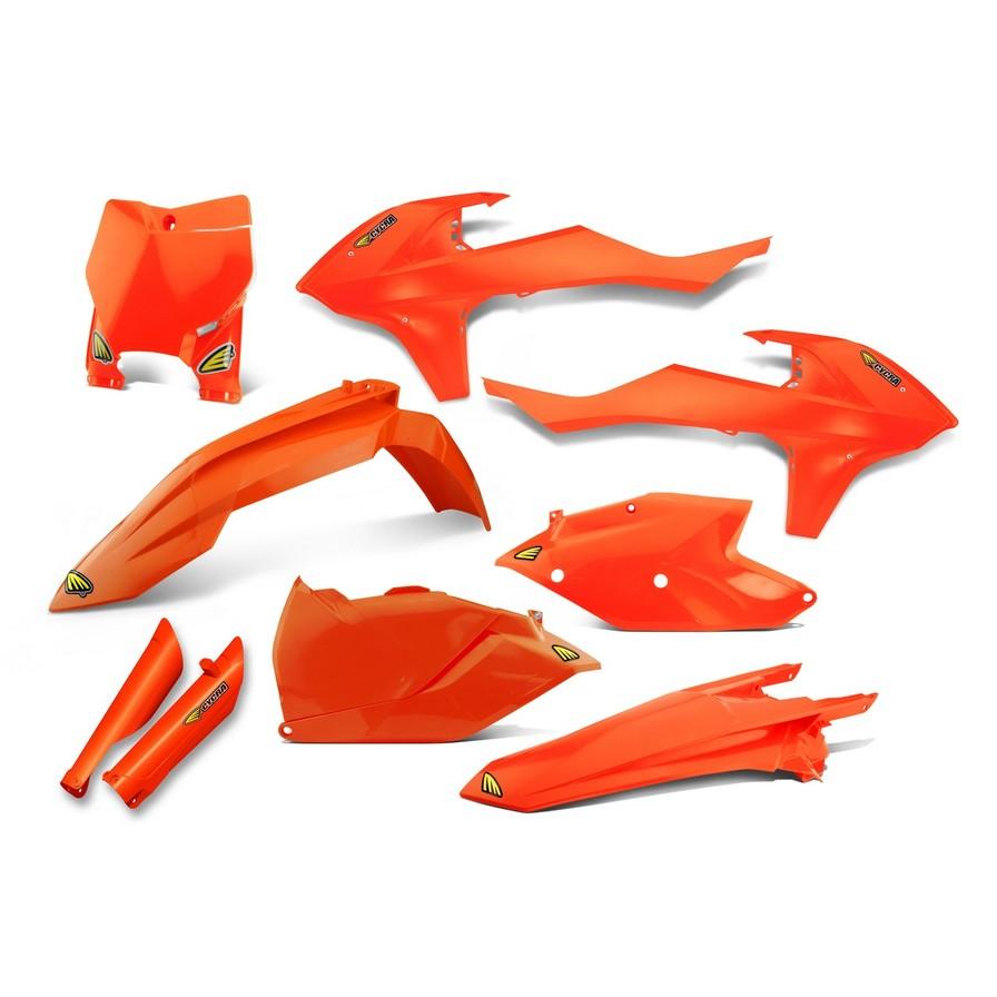 CYCRA サイクラ フルカウル・セット外装 パワーフローインテークラジエターボディキット カラー:オレンジ純正 (2016-2017)