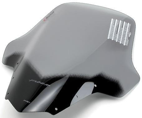 Puig プーチ ツーリングスクリーン カラー:ブラック FZ1フェザー