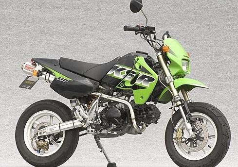 ヤマモトレーシング YAMAMOTO RACING フルエキゾーストマフラー スペックA フルエキゾーストアップマフラー KSR110