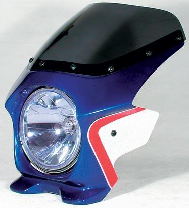 N PROJECT Nプロジェクト エヌプロジェクト ビキニカウル・バイザー ブラスターII エアロスクリーン カラー:パールサンビームホワイト(単色仕上げ) CB400SF HYPER VTEC SpecIII 06